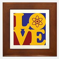 Nuclear Engineering Love Framed Tile
