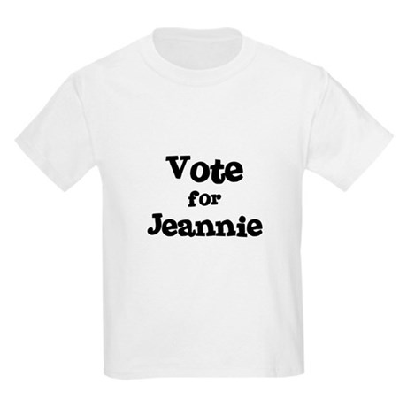 Vote for Jeannie Kids T-Shirt