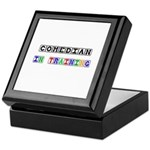 Comedian In Training Keepsake Box