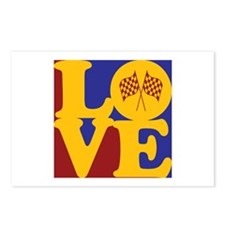 NASCAR Love Postcards (Package of 8)