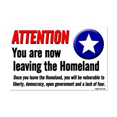 Leaving the Homeland Small Poster