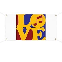 Music Love Banner
