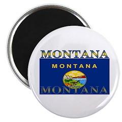 Montana State Flag Magnet