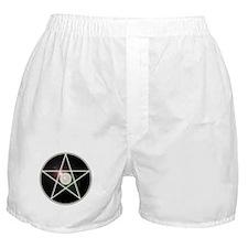 Glowing Pentagram 3 Boxer Shorts