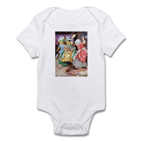 ALICE, THE DUCHESS & THE PIG BABY Infant Bodysuit