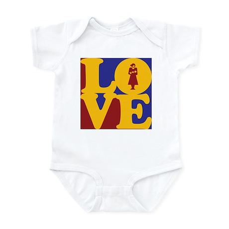 Midwifery Love Infant Bodysuit