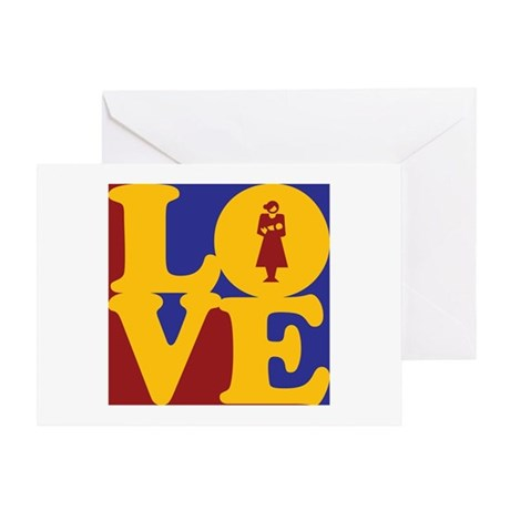 Midwifery Love Greeting Card