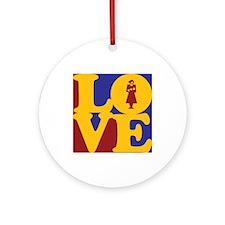 Midwifery Love Ornament (Round)