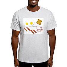 Good Morning Ash Grey T-Shirt