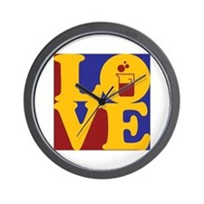 Microbiology Love Wall Clock