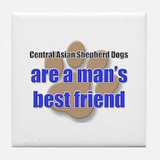 Central Asian Shepherd Dogs man's best friend Tile