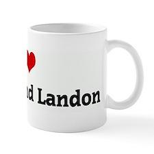 I Love Braddie and Landon Mug