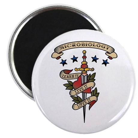 """Love Microbiology 2.25"""" Magnet (100 pack)"""