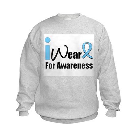 Prostate Cancer Awareness Kids Sweatshirt