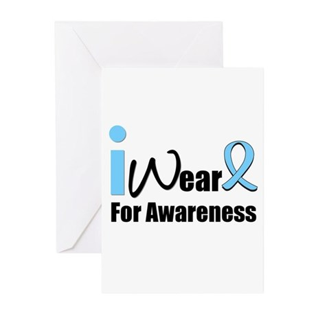 Prostate Cancer Awareness Greeting Cards (Pk of 10