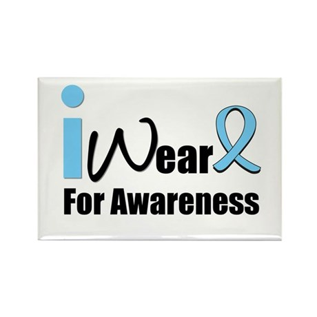 Prostate Cancer Awareness Rectangle Magnet (10 pac