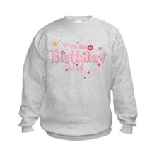Birthday girl 3 Sweatshirt