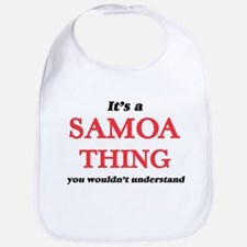 It's a Samoa thing, you wouldn't Baby Bib