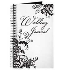 Elegant Floral Wedding Journal