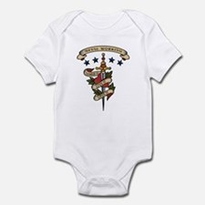 Love Metal Working Infant Bodysuit