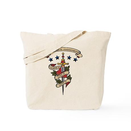 Love Mechanical Engineering Tote Bag