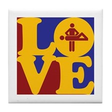 Massage Love Tile Coaster