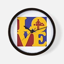 Massage Love Wall Clock