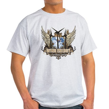 Pennsylvania Wind Energy Light T-Shirt
