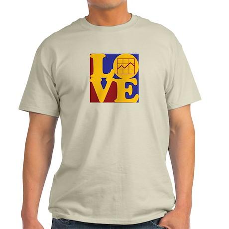 Market Research Love Light T-Shirt
