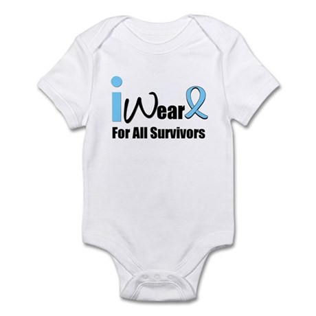 Prostate Cancer Survivors Infant Bodysuit