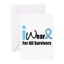 Prostate Cancer Survivors Greeting Cards (Pk of 10