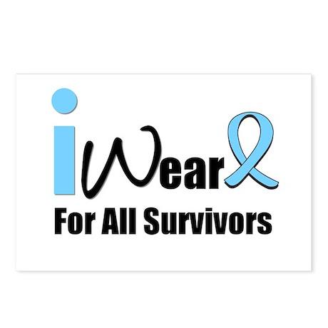 Prostate Cancer Survivors Postcards (Package of 8)
