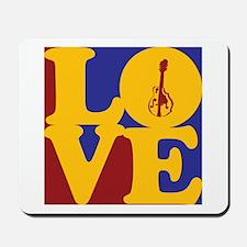 Mandolin Love Mousepad