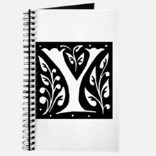 Art Nouveau Initial Y Journal