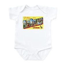 New Orleans Louisiana Greetings Infant Bodysuit