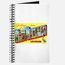 New Orleans Louisiana Greetings Journal