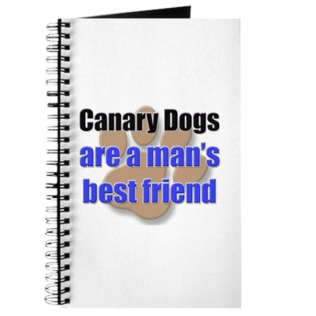 Canary Dogs man's best friend Journal