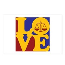 Law Love Postcards (Package of 8)