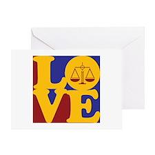Law Love Greeting Card