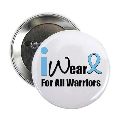 "Prostate Cancer Warrior 2.25"" Button (10 pack)"