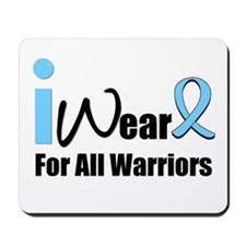 Prostate Cancer Warrior Mousepad