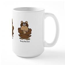 No Evil Monkeys Mug