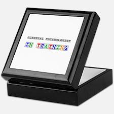 Clinical Psychologist In Training Keepsake Box