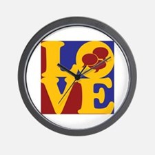 Interpreting Love Wall Clock