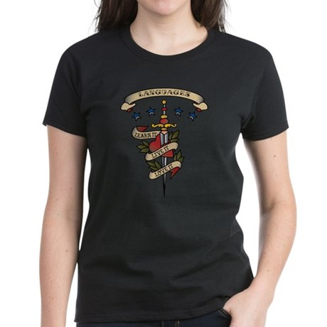 Love Languages Women's Dark T-Shirt