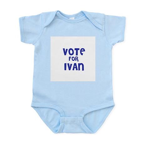 Vote for Ivan Infant Creeper