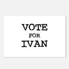 Vote for Ivan Postcards (Package of 8)