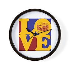 HVAC Love Wall Clock