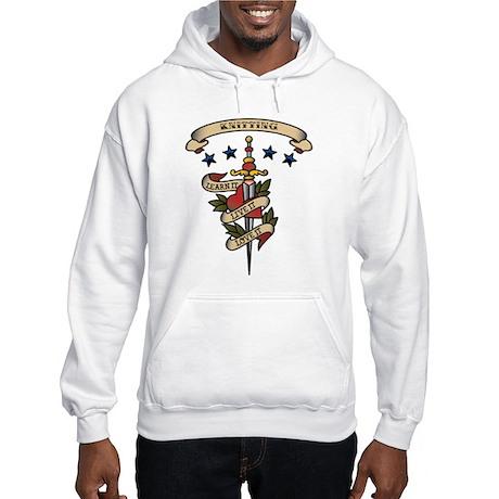 Love Knitting Hooded Sweatshirt