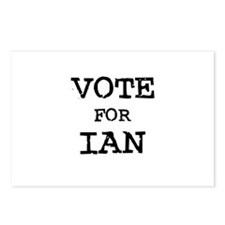 Vote for Ian Postcards (Package of 8)